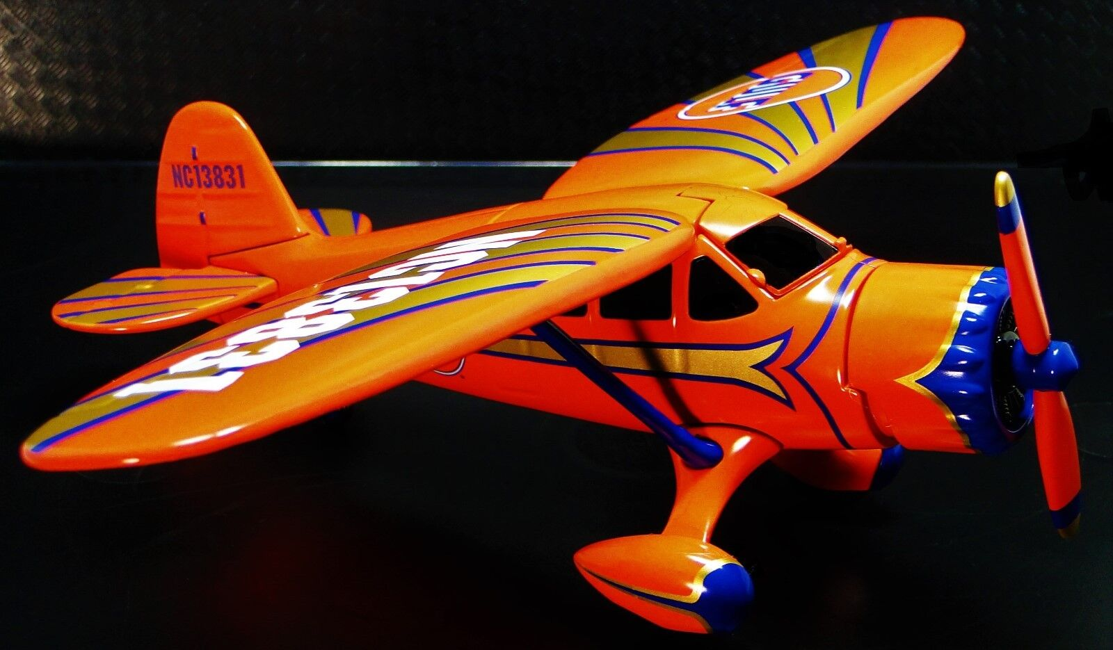 1 Aviones Avión Militar Modelo Diecast armadura Segunda Guerra Mundial Vintage 48 Naranja Cocherusel