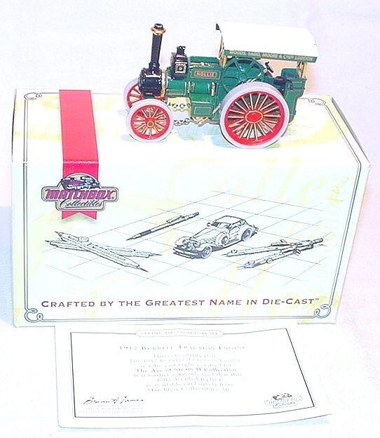 entrega rápida Matchbox Moy Collectibles 1912 Burrell Burrell Burrell tracción vapor Motor Yas 08-M MIB`95 Top  comprar nuevo barato