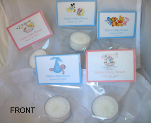 Image Is Loading Baby Snoopy Baby Shower Tea Light Candle Favors