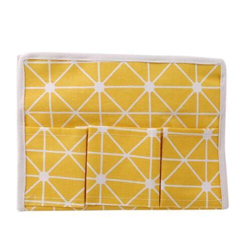 Tissue Box Pen Remote Storage Bag Desk Organizer Holder Table Pocket Case Q
