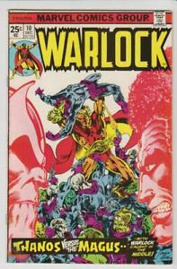 Warlock-10-Origin-Thanos-amp-Gamora-1975-Marvel-Comics-VF-7-5