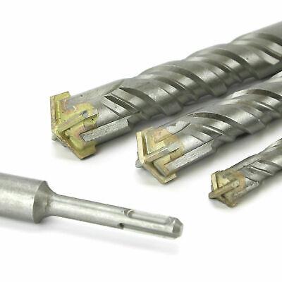 Compatible con hormig/ón de ladrillo Cabeza Transversal de 20 mm Create Idea Broca SDS Plus de 450 mm
