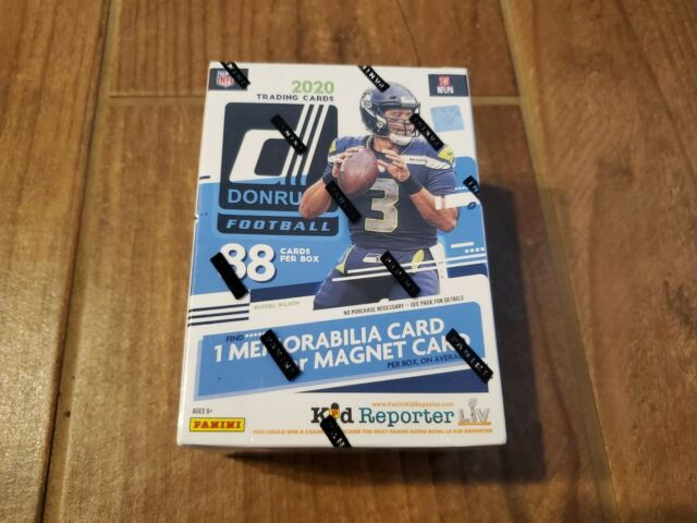 2020 Donruss Football Trading Cards Blaster Box - 88 Cards Per Box