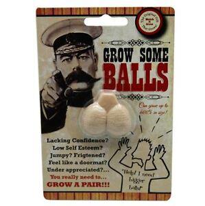 Grow Your Own Pair Of Balls Fun Adult Novelty Joke Prank Party Secret Santa Gift