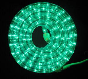 Flexilight green rope light 24ft 110v 120v 2 wire 12 incandescent image is loading flexilight green rope light 24ft 110v 120v 2 mozeypictures Image collections
