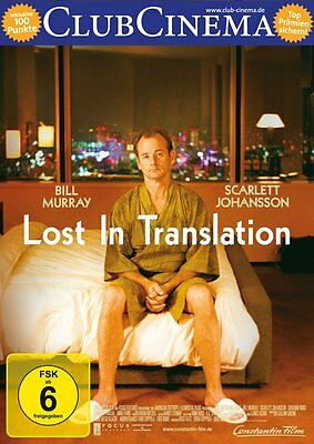 DVD * LOST IN TRANSLATION  | BILL MURRAY - COPPOLA # NEU OVP +