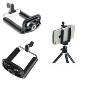 Smartphone-Tripod-Bracket-Mount-Holder-Adapter-Mobile-Phone-iphone-6-6S-HTC