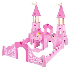 Details About Chad Valley Fantasy Castle Wooden Princess Carriage Bnib Fairytale