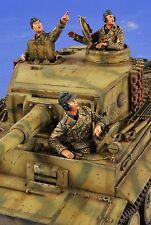 VERLINDEN PRODUCTIONS #2677 Flieger! WWII German Tank Crew Figuren in 1:35
