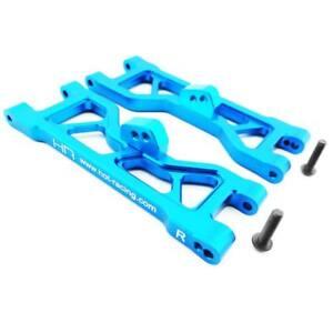 Hot-Racing-ECT5506-Blue-Aluminum-Front-Arm-Set-ECX-New