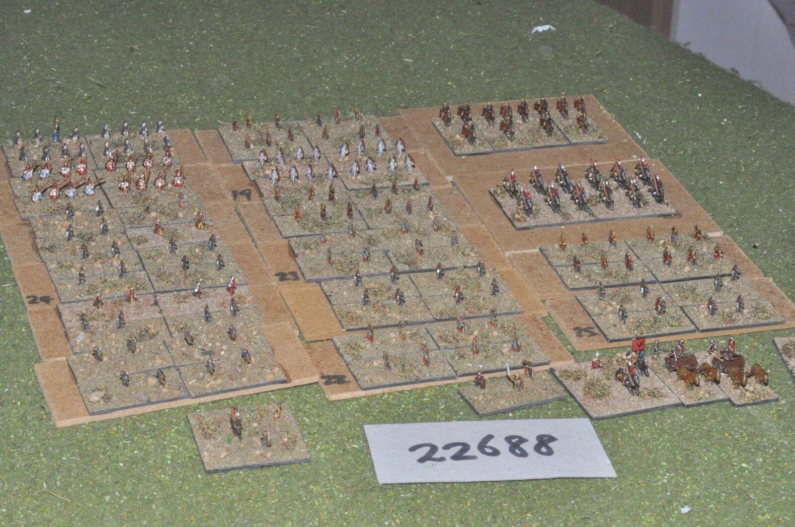 6mm Roman Era   roman - auxiliaries 190 figures - inf (22688)