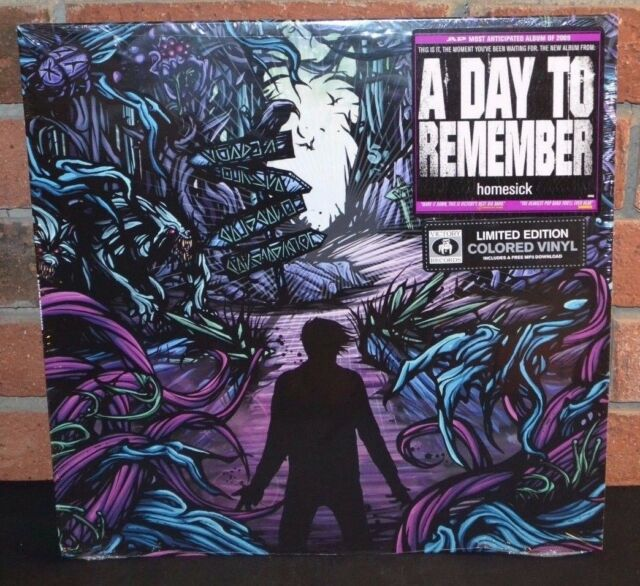 A Day To Remember Homesick Limited Purple Colored Vinyl