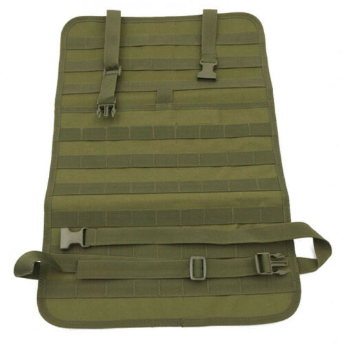 Tactical Molle Car Seat Back Organizer Storage Bag Pouch Universal Seat Cover