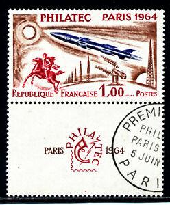 FRANCE-1422-neuf-xx-oblitere-sur-vignette-TRES-BEAU-prix-interessant
