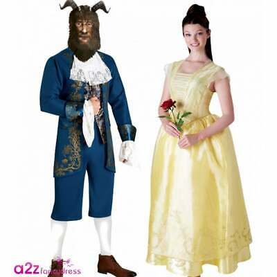 Mens Official Live Action Beauty /& The Beast Disney Fancy Dress Costume Outfit