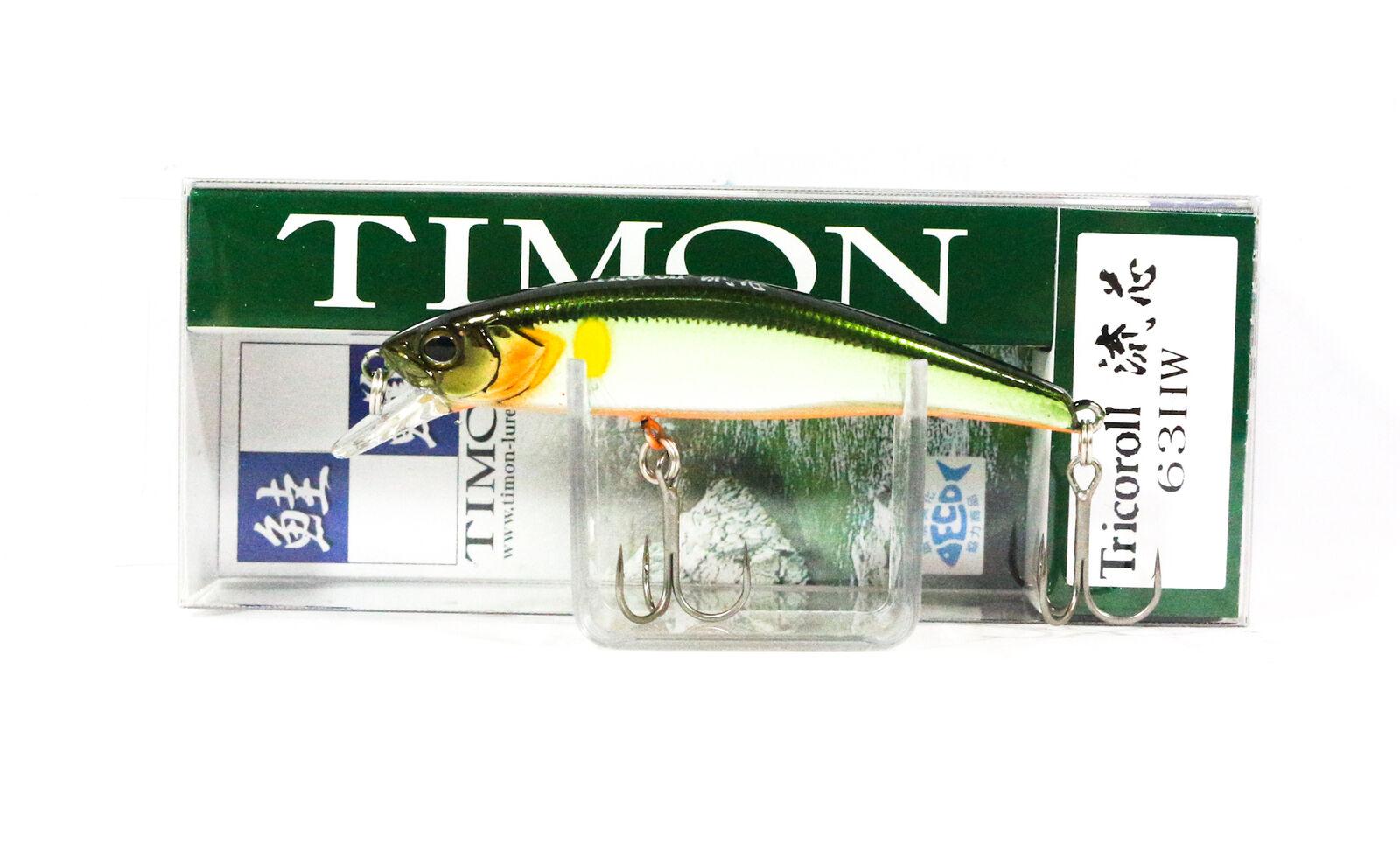 Jackall Timon Tricoroll 67F fishing lures original range of colors