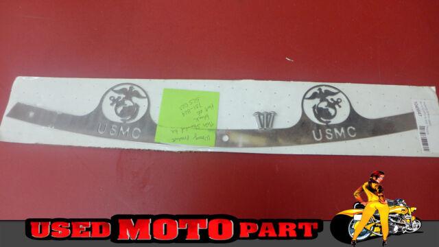 Silver Billet Fairing Windshield Bolt Kit 96-13 Harley USMC MARINE 002