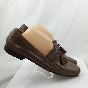 Size 0836 Loafers Kiltie Tan 15 Saddle Tassel Murphy Breland 10m Mens Johnston x7YAfA