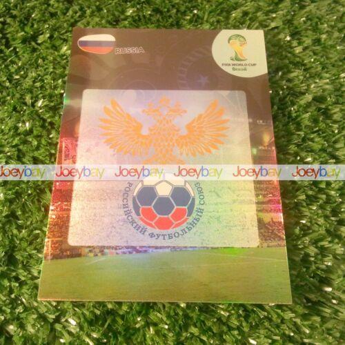 WORLD CUP LOGOS CARDS 2014 PANINI ADRENALYN XL BADGE BADGES 14
