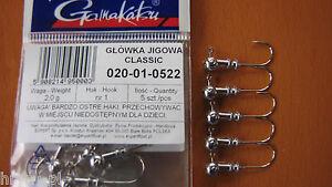 5-x-GAMAKATSU-JIGKOPFE-GR-1-2-0g-FUR-KOPYTO-TWISTER-HIT