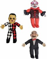 Talking Haunted Doll Prop Sound Activated Scary Halloween Party Decoration