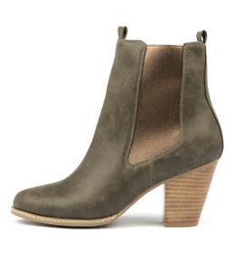 New-I-Love-Billy-Cappy-Olive-Bronze-Womens-Shoes-Casual-Boots-Ankle