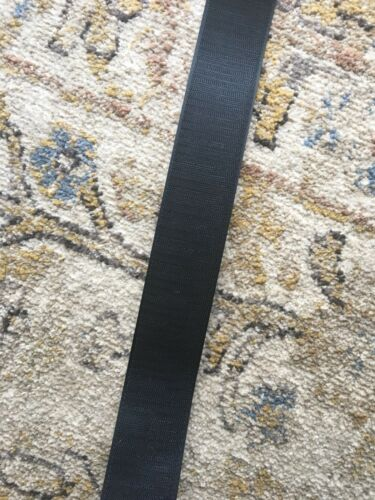 "2"" sew on Black Military Specification Hook and Loop 1 Yard"