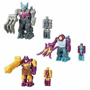 Transformers-Power-Of-The-Primes-Prime-Master-Set-of-3-Octopunch-Bludgeon
