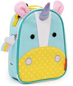 Skip Hop Zoo Lunchie Sac-repas Isotherme-licorne Kids Lunch Bags Bn-afficher Le Titre D'origine Texture Nette