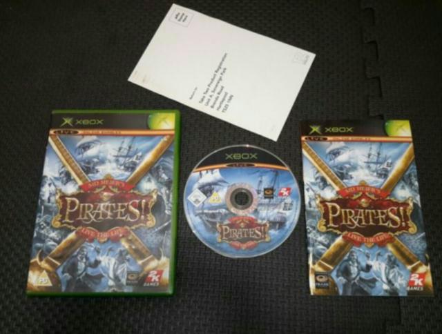 Sid Meier's Pirates vivir la vida (Microsoft Xbox) versión europea PAL
