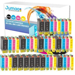 Lot-de-40-cartouche-jet-d-039-encre-type-Jumao-compatibles-pour-Epson-Stylus-SX620FW