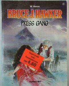 W-Vance-Bruce-J-Hawker-Press-Gang-ComicArt-1-Auflage-1990-B-15091