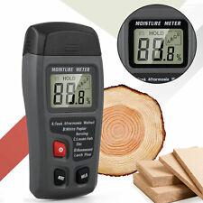 Digital Lcd Wood Moisture Meter 0 999 Firewood Paper Humidity Detector Tester