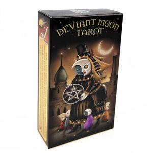 78Pc-Set-moon-tarot-Deck-Cards-Divination-Esoteric-Fortune-Patrick-Valenza