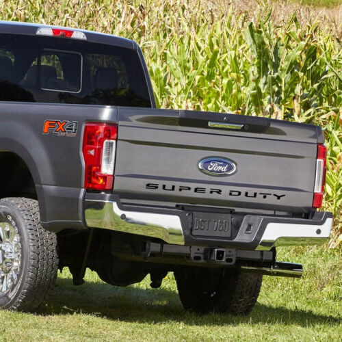 "Ford Super-Duty F-250 F-350 F-450 2017 to 2019 Tailgate 1//32/"" Black Letter Inser"