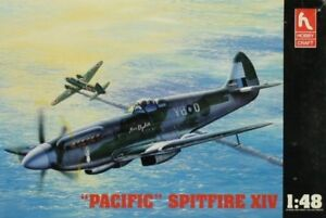 Hobby Craft 1:48 Pacific Spitfire XIV Plastic Aircraft Model Kit #1537