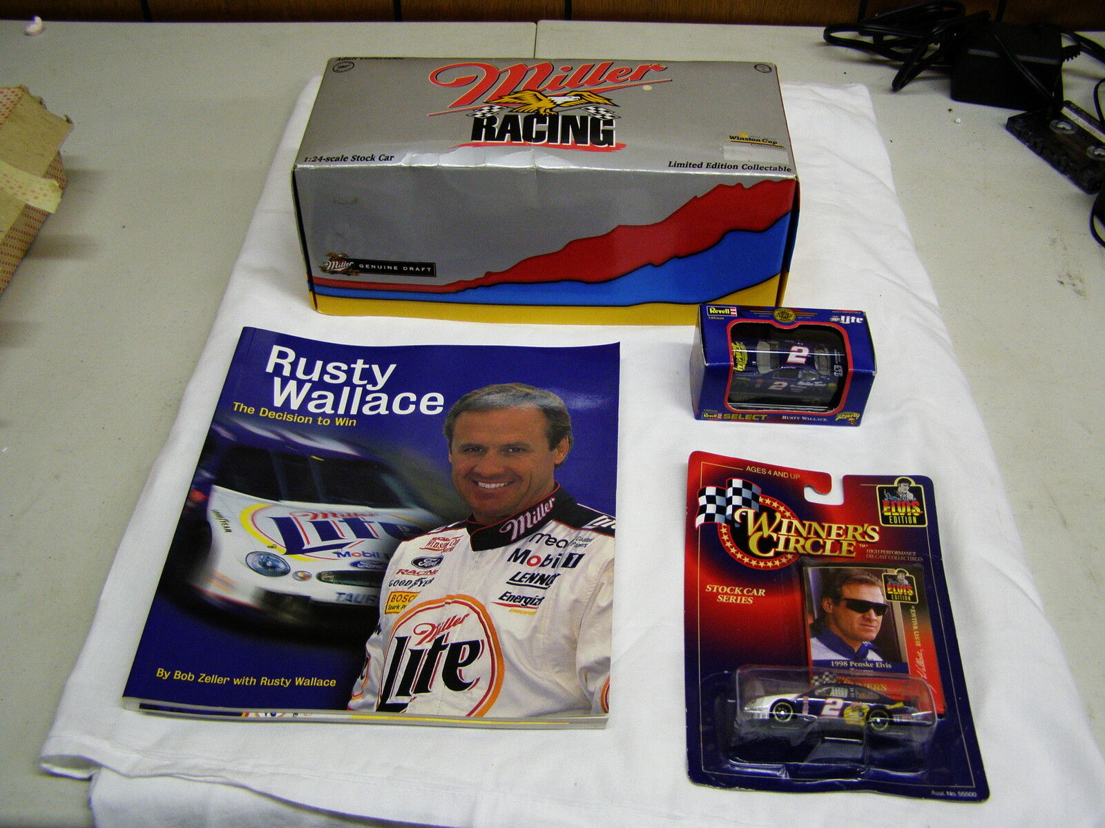Rusty Wallace small lot of collectibles