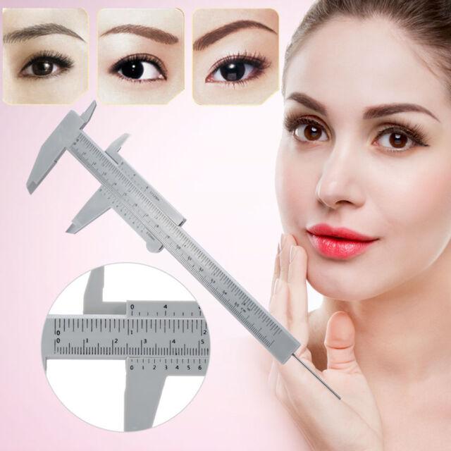 Reusable Permanent Eyebrow Makeup Microblading Measure Tattoo Ruler