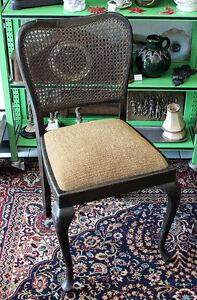 Ess k chen stuhl schwarz geflecht stoff bezug for Design stuhl geflecht
