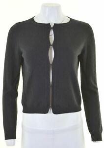 MAX-MARA-Womens-Cardigan-Sweater-Size-10-Small-Black-GR03