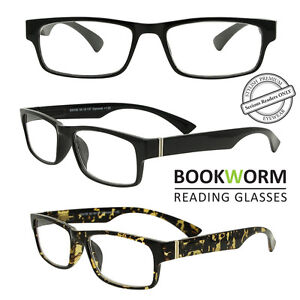 989a186c6f Image is loading Wayfarer-Strong-Frame-Reading-Glasses-Mens-Womens-Ladies-
