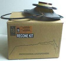 Eighteen Sound /18 Sound R12MB1000 Original Recone Kit