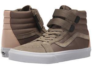 e4c56742ad Vans Men s SK8-Hi Reissue V US 12 M Green Suede   Nylon Sneakers ...