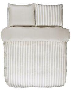 Marc Opolo Bettwäsche Set Classic Stripe Oatmeal Streifen Satin Ebay