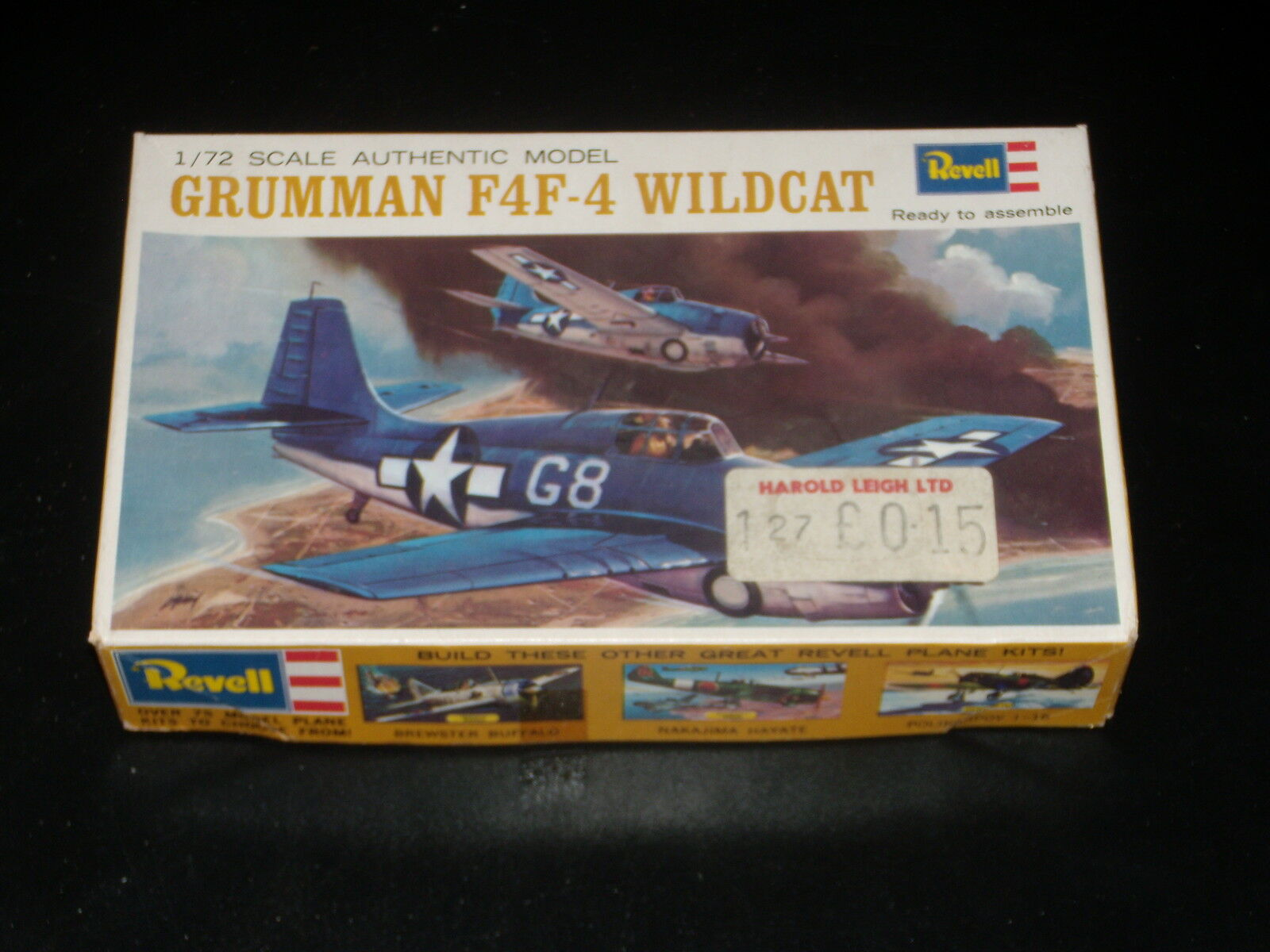 MODELL - GRUMMAN F4F-4 WILDCAT WILDCAT WILDCAT - REVELL - 1 72 - 1965 - SET - VOLLSTÄNDIGES f0613d