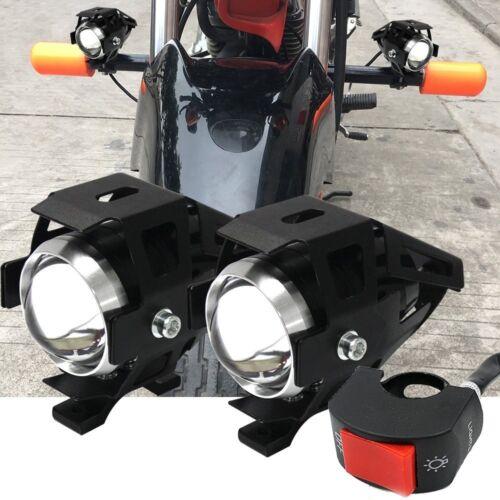 FARETTI a LED MOTO SUPPLEMENTARI 12V 80V 125W YAMAHA FZR FZ6 FZ1 FAZER R1 R6 MOT
