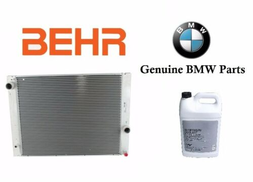 For BMW 745 760 645 545 NEW Behr OEM Radiator /& For BMW Coolant #17 11 7 585 440