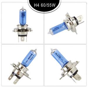 Car Auto H4 HID Xenon Super White Headlight 12V 60//55W Halogen Bulb Light Lamp