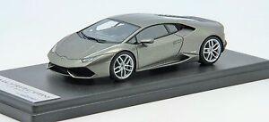 1-43-Looksmart-Lamborghini-Huracan-LP610-4-Grigio-Titans-Free-Shipping