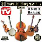 30 Essential Bluegrass by Various Artists (CD, Jan-2004, Teevee Records)